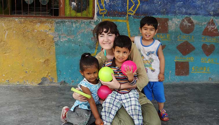 Photo Gallery - Childcare Volunteer Program Palampur