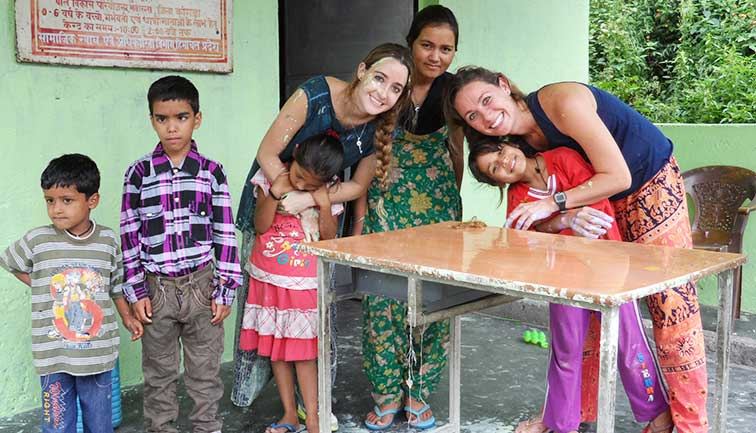 Photo Gallery - Programa de Voluntariado Infantil Palampur