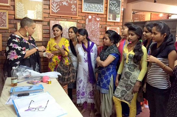 She inspired these women to be independent and earn their livelihood