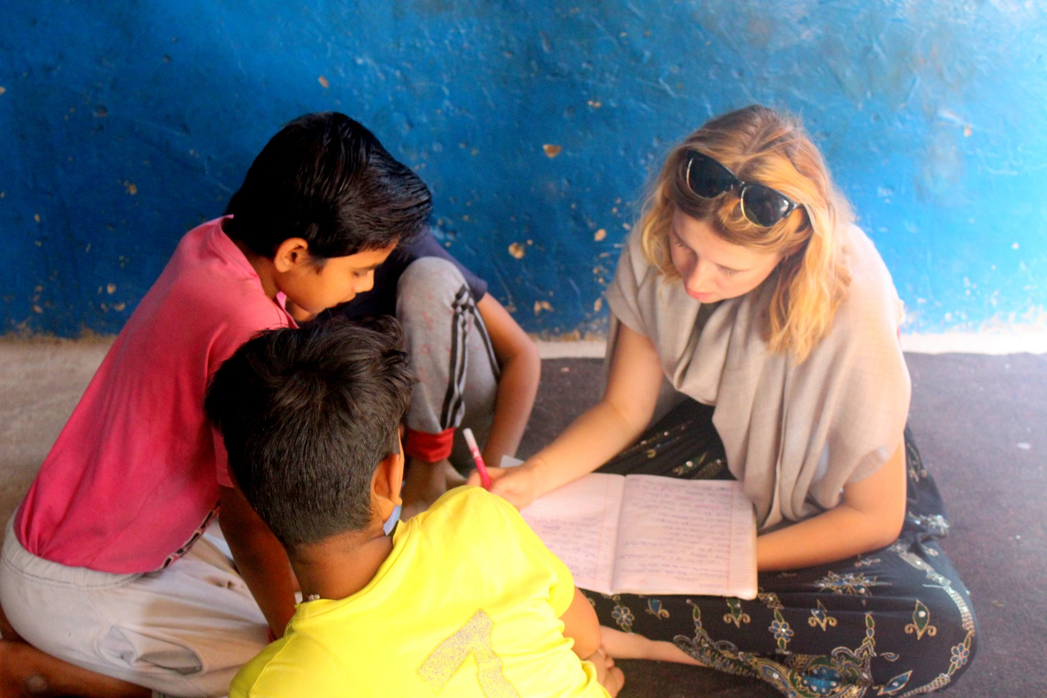 Impact By The Volunteers In India