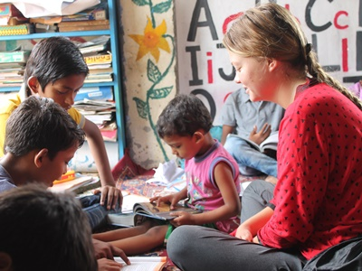 Volunteering With Street Children in India
