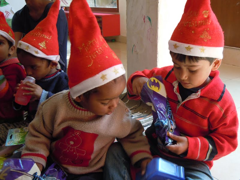 Volunteer in India During Christmas