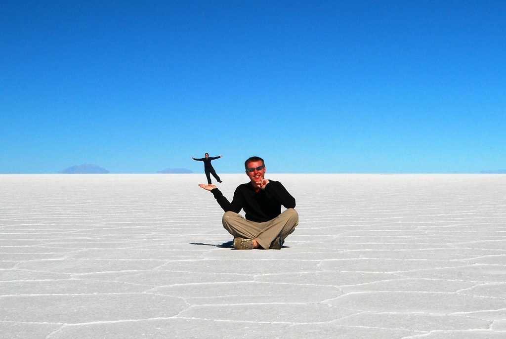 Rann of Kutch in India