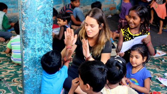 volunteer in india VI