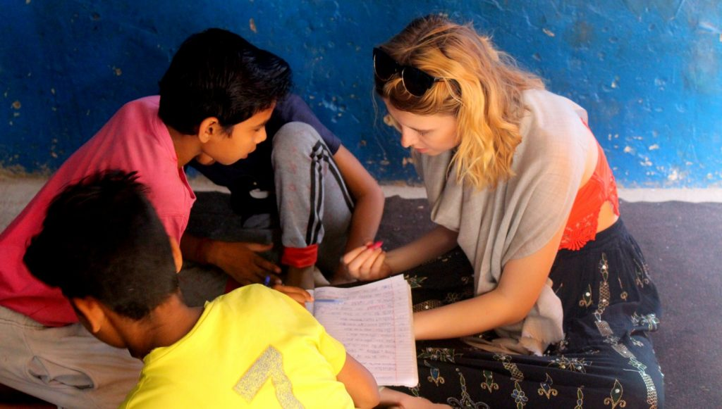 volunteer work India