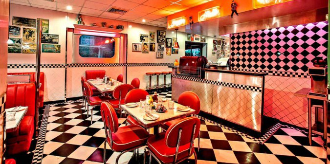 breakfast at All American Diner, IHC
