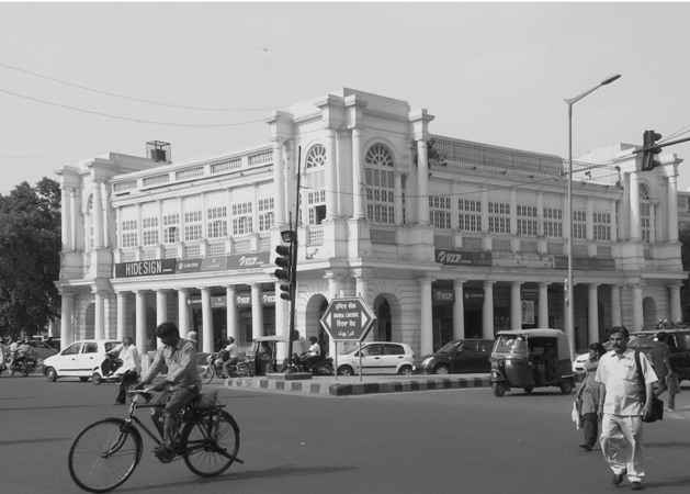 colonial architecture of Connaught Place