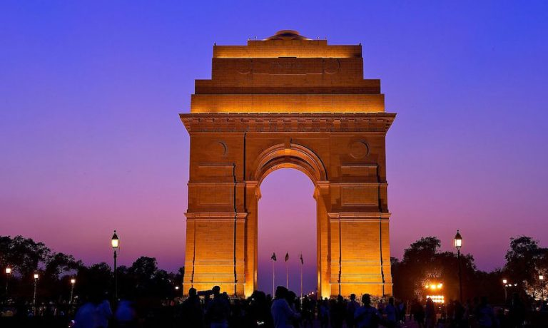 evening at India Gate