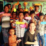 volunteering with children in India