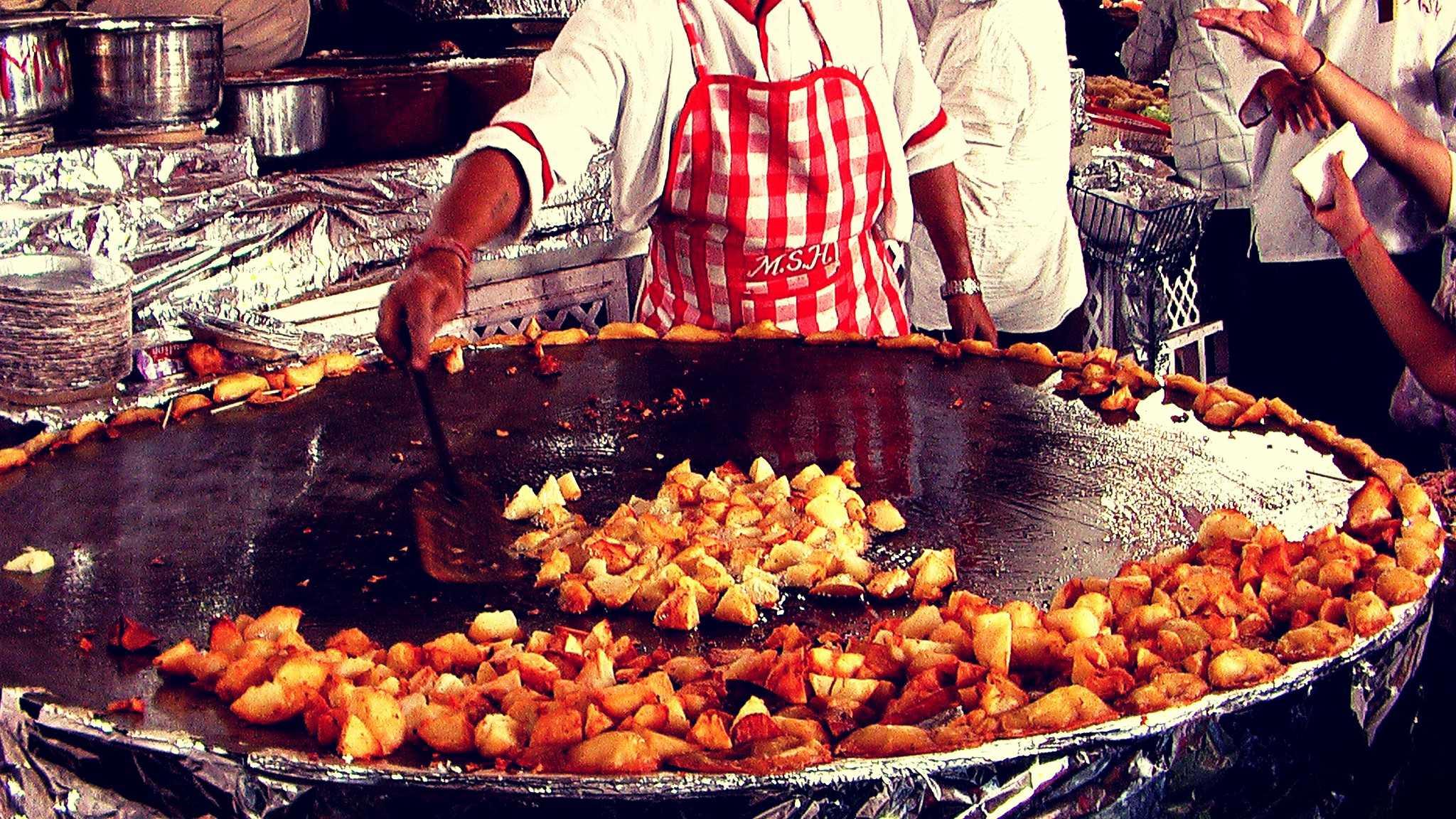 Delhi Street food